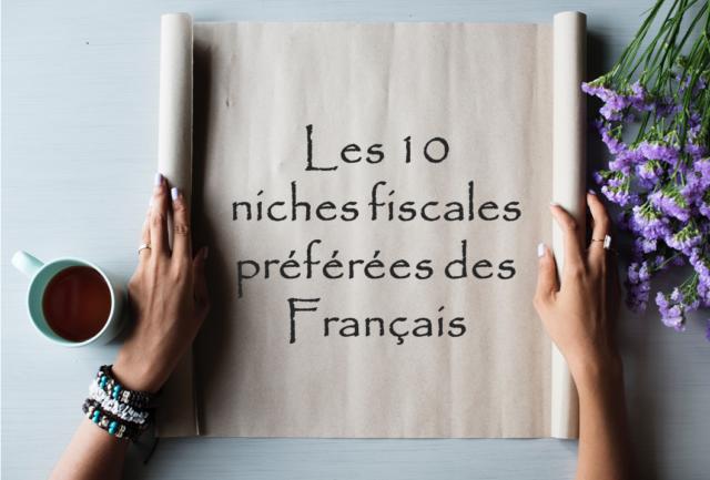 Top 10 des niches fiscales préférées des français